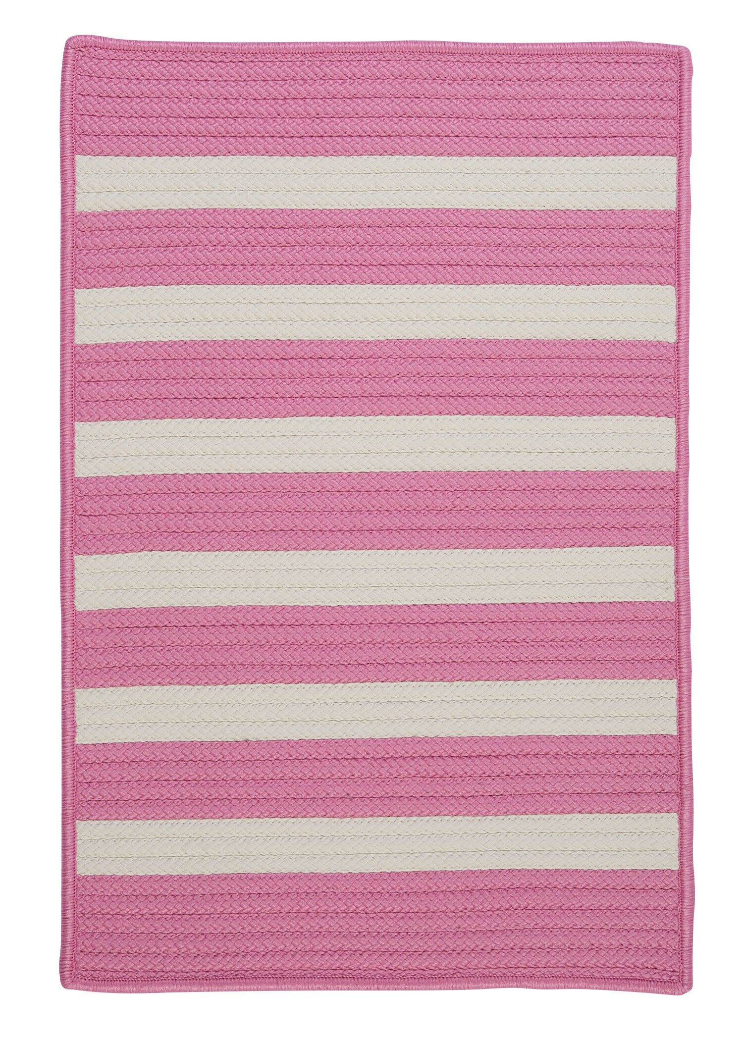 Georg Bold Pink Indoor/Outdoor Area Rug Rug Size: Square 4'