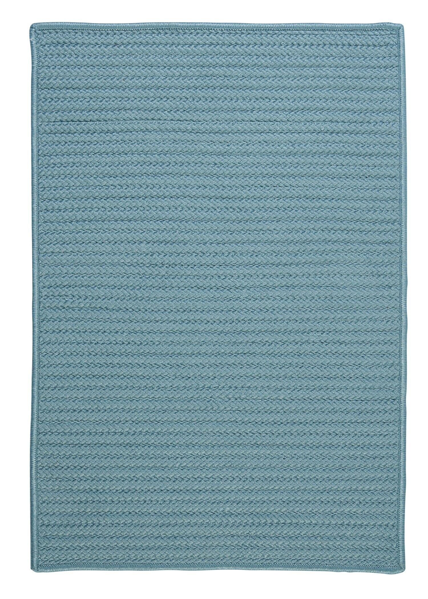 Raulston Blue Indoor/Outdoor Area Rug Rug Size: Rectangle 5' x 8'