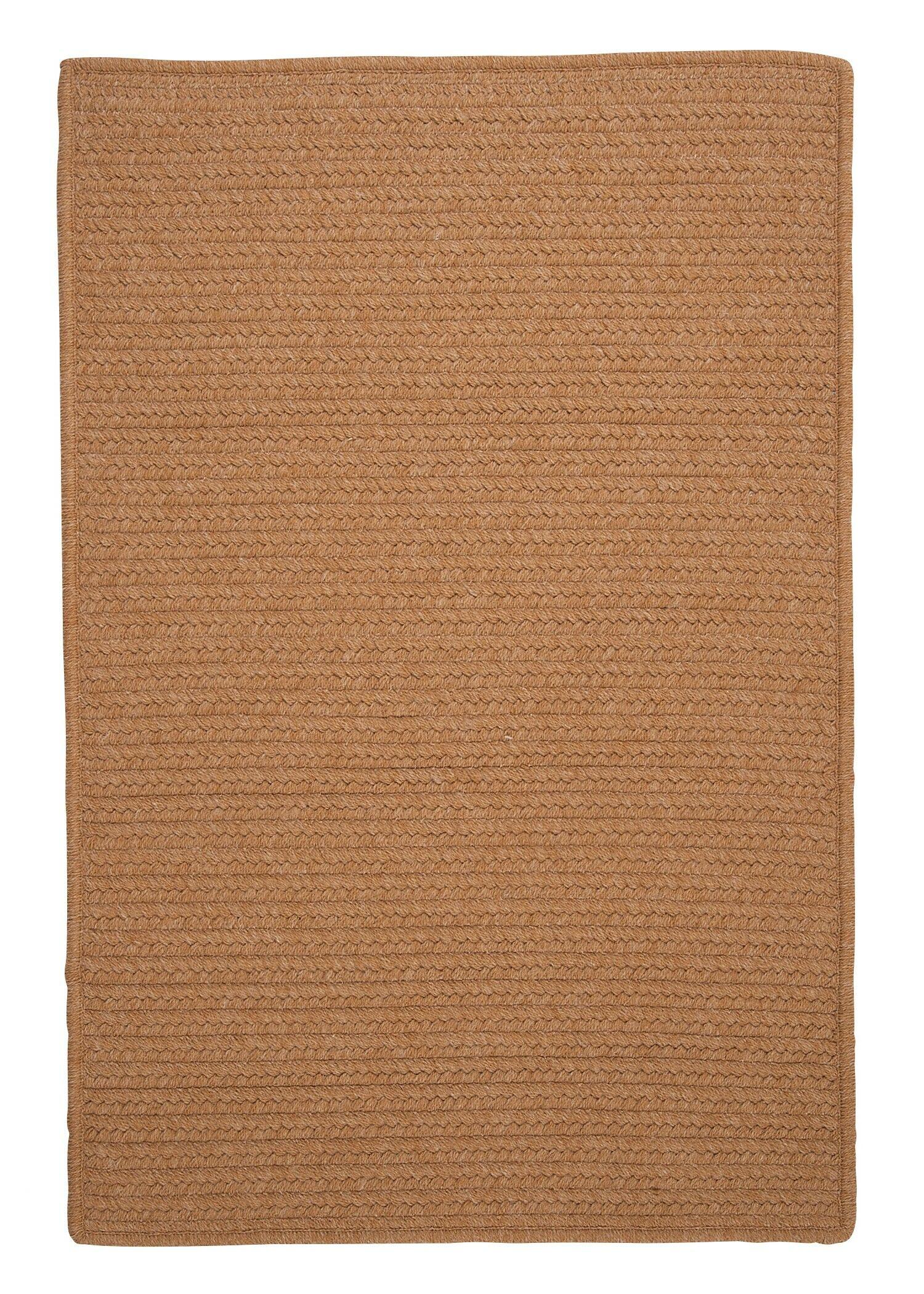 Westminster Evergold Area Rug Fringe: Included, Rug Size: Square 4'