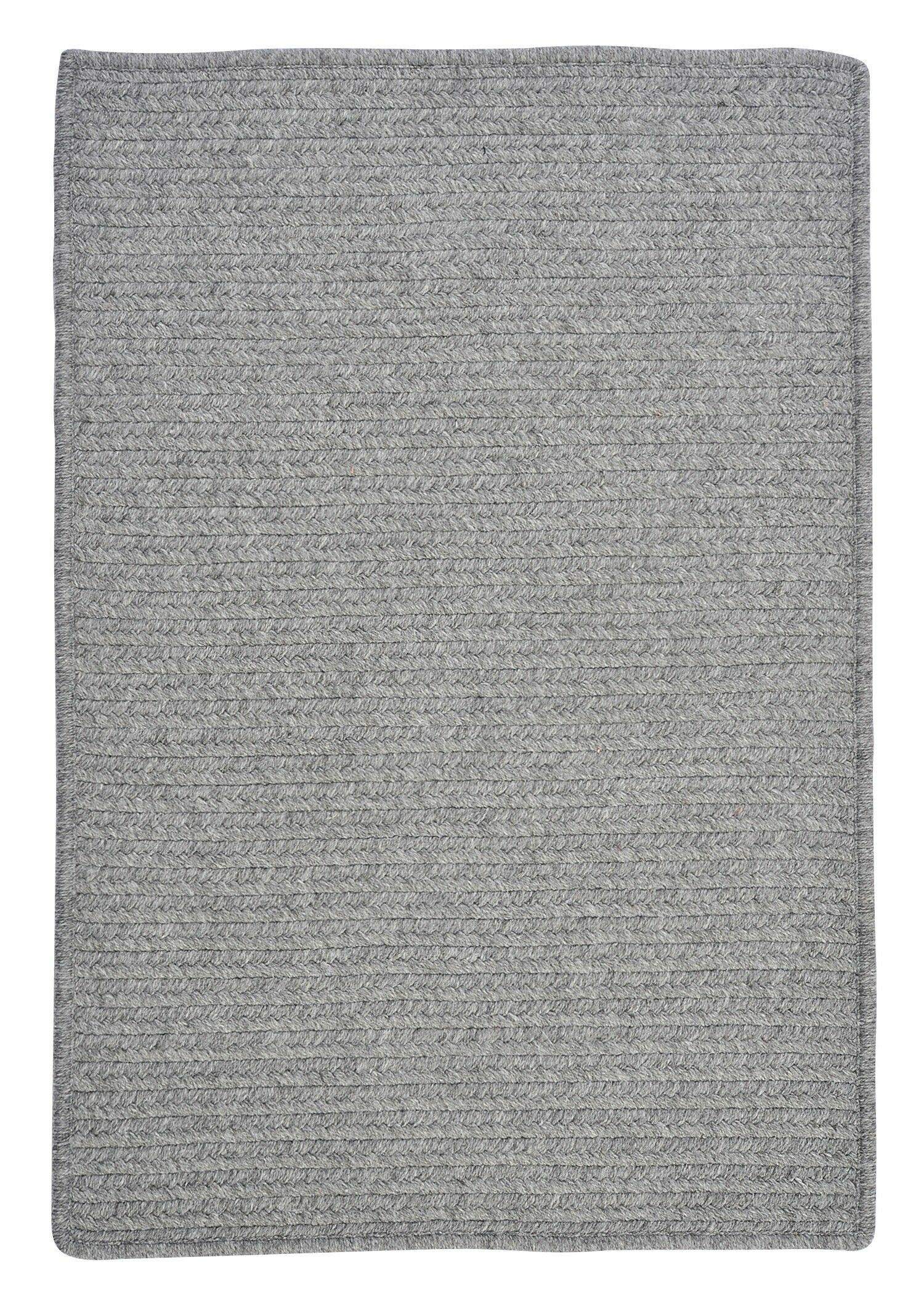 Westminster Light Gray Area Rug Rug Size: Rectangle 12' x 15'