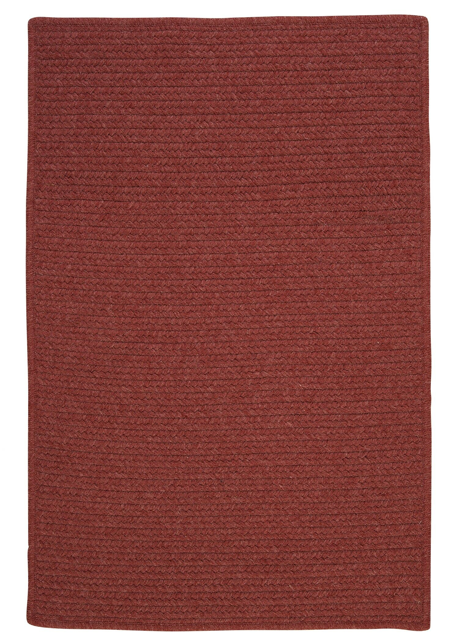 Westminster Rosewood Area Rug Fringe: Included, Rug Size: Square 10'