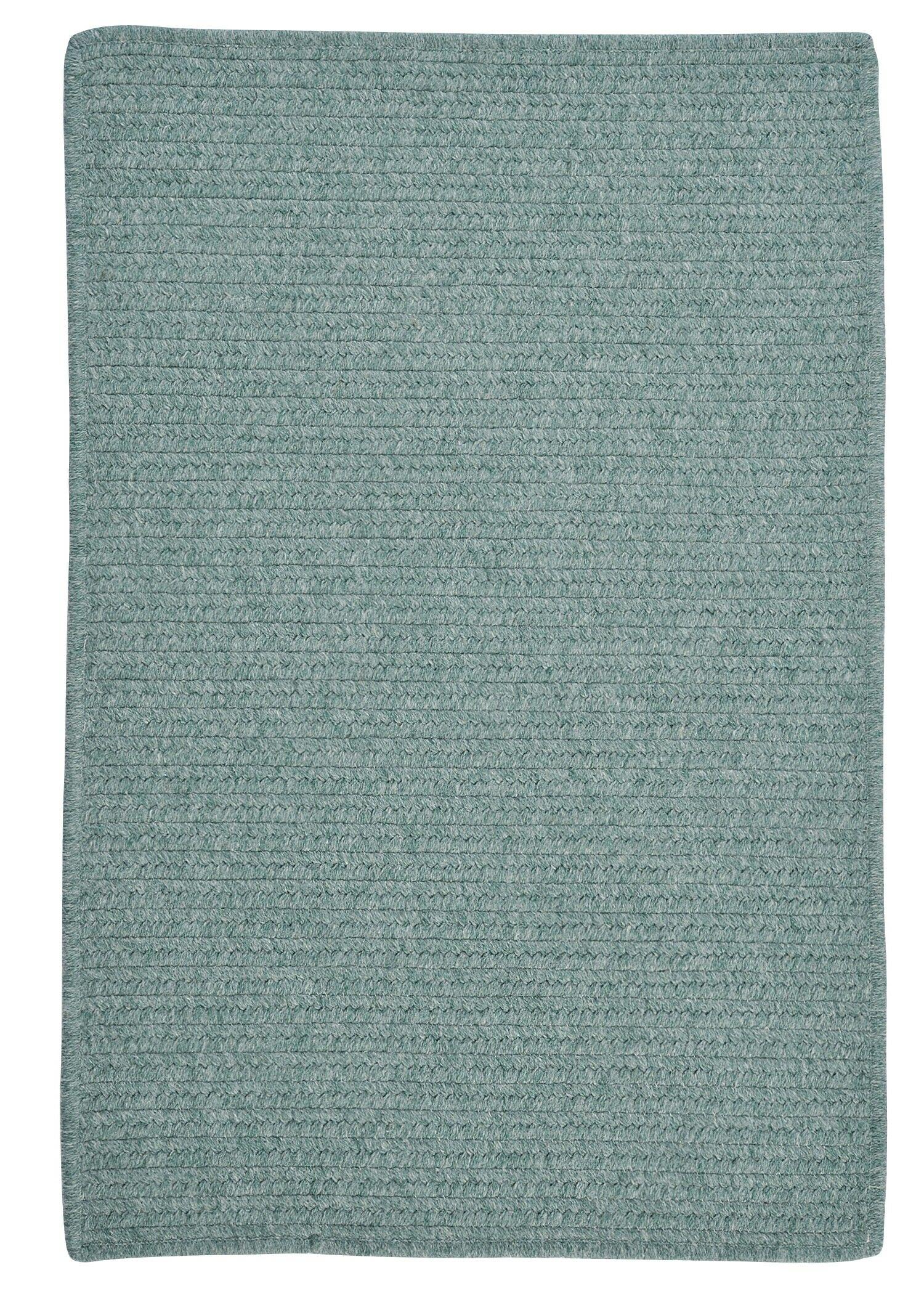 Westminster Teal Area Rug Rug Size: Square 12'