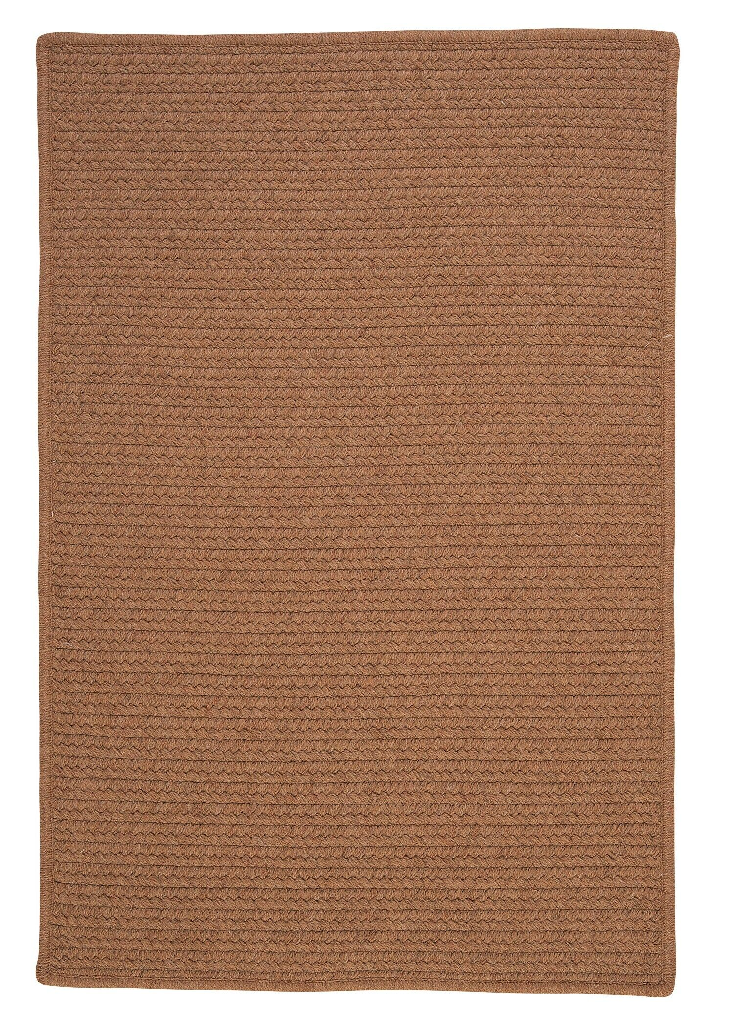 Westminster Taupe Area Rug Fringe: Included, Rug Size: Rectangle 7' x 9'