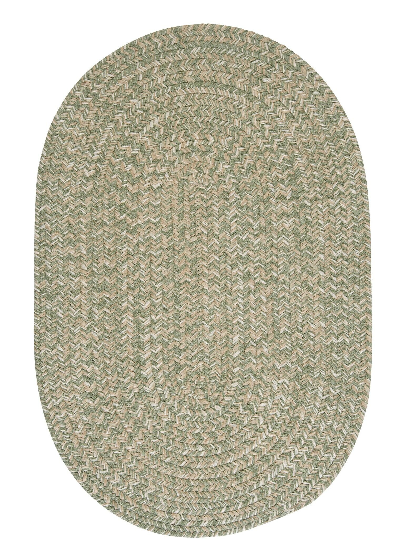 Tremont Palm Area Rug Rug Size: Oval 5' x 8'