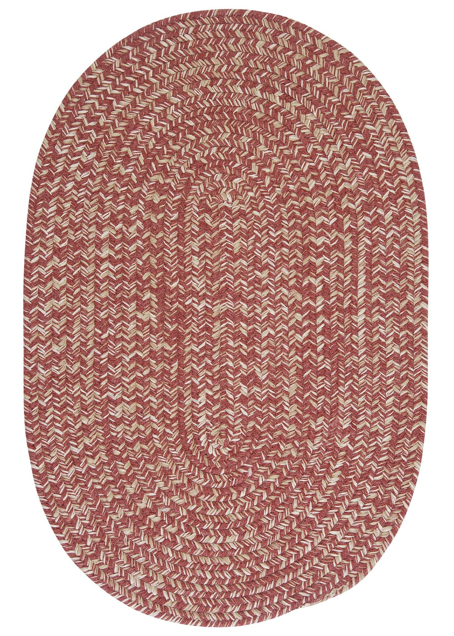 Tremont Rosewood Area Rug Rug Size: Oval Runner 2' x 10'