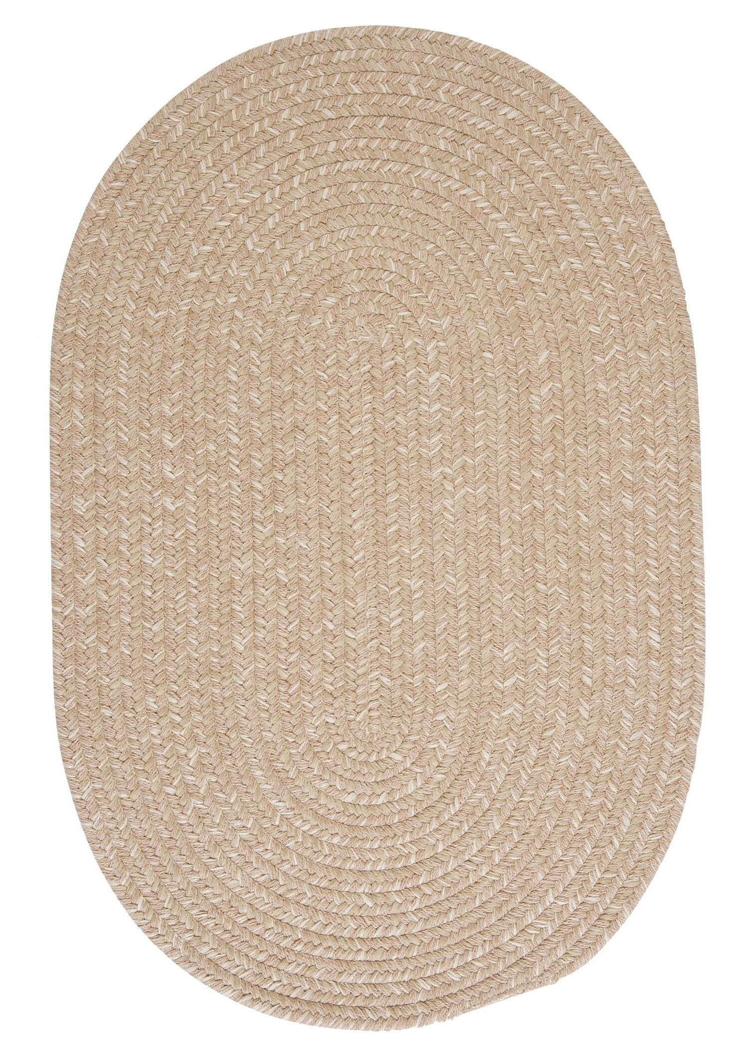 Tremont Oatmeal Area Rug Rug Size: Oval 7' x 9'