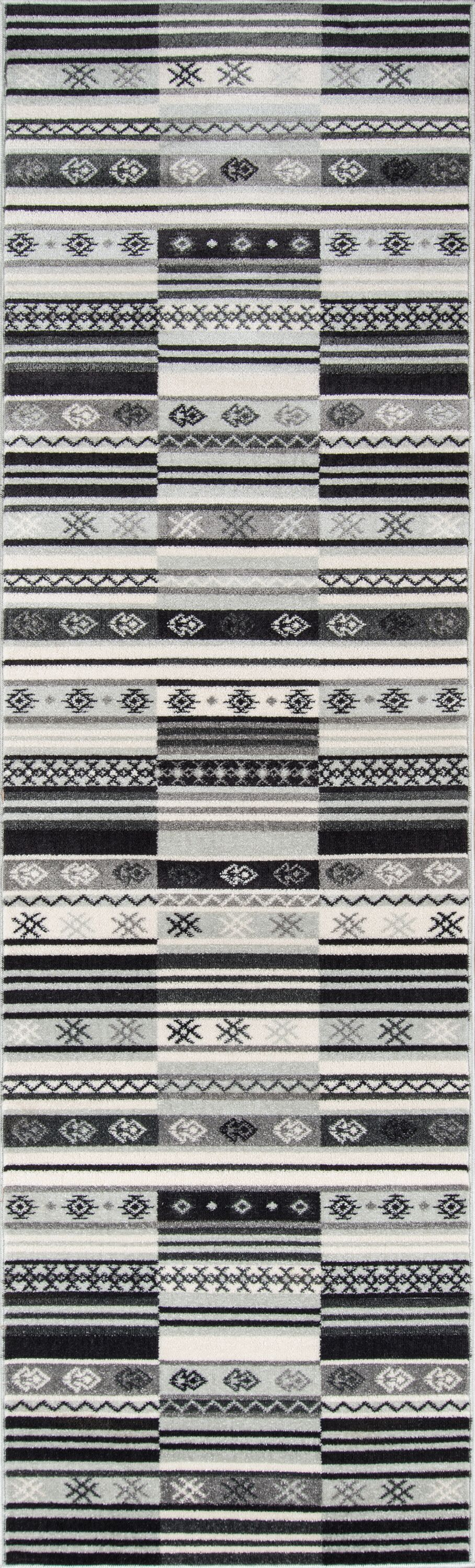 Kari Charcoal Indoor/Outdoor Area Rug Rug Size: Runner 2'3
