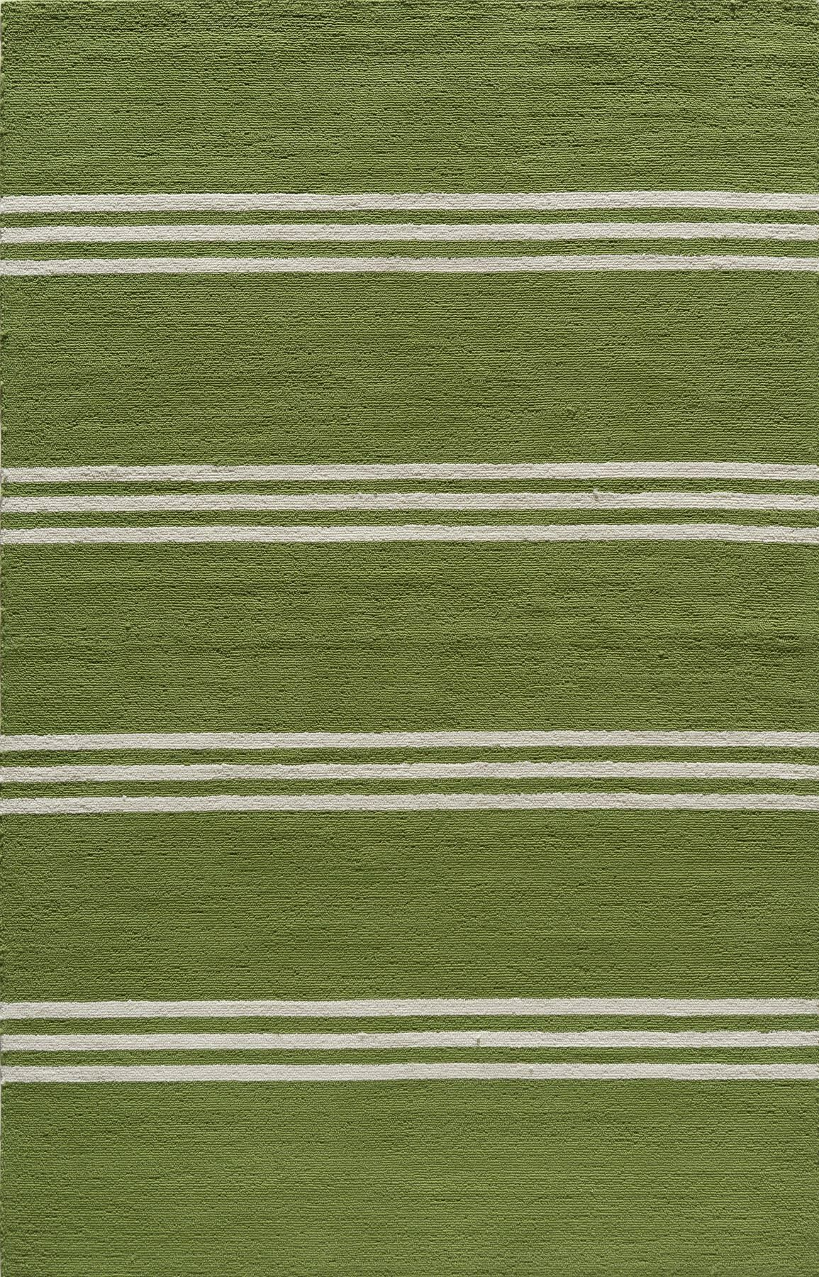 Dreadnought Hand-Hooked Lime Indoor/Outdoor Area Rug Rug Size: Rectangle 8' x 10'