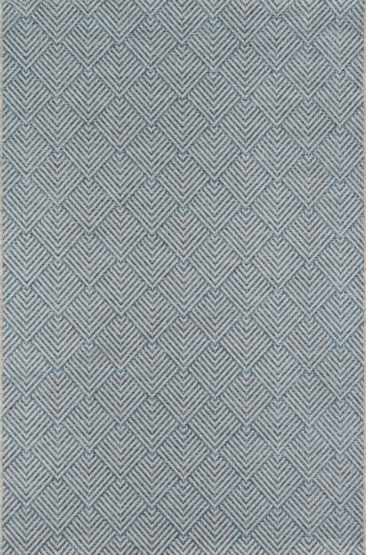 Milivoje Blue Area Rug Rug Size: Rectangle 7'10