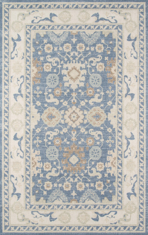 Griswold Indoor Light Blue Area Rug Rug Size: Rectangle 3'3