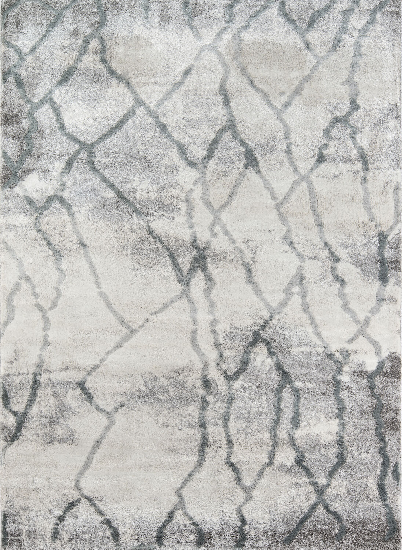 Northwick Modern Indoor Gray Area Rug Rug Size: Rectangle 3'3