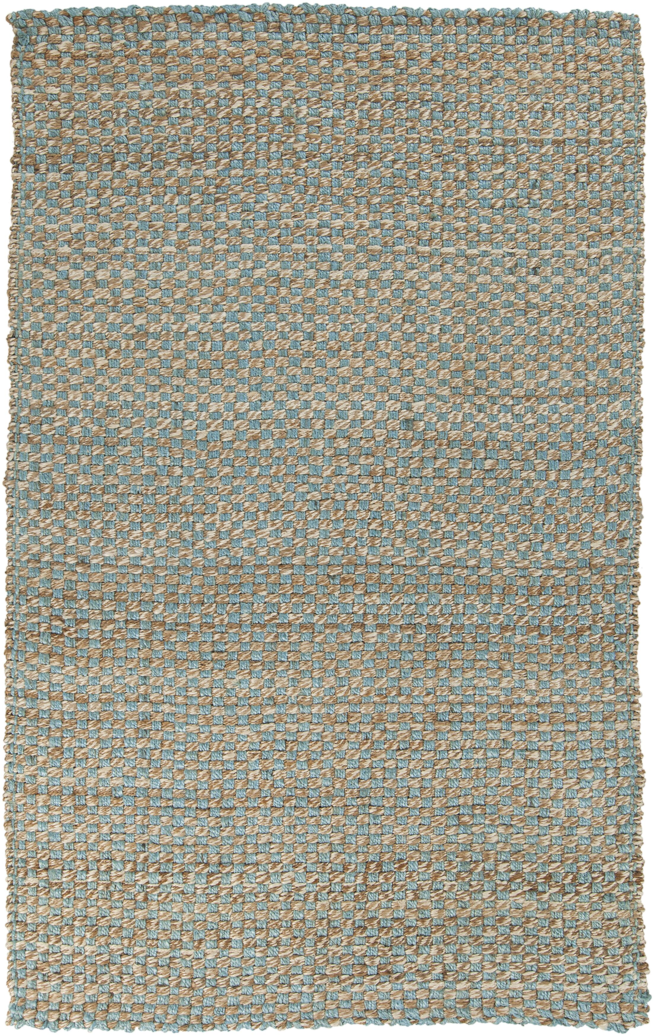 Jaidan Powder Blue Rug Rug Size: Rectangle 5' x 8'