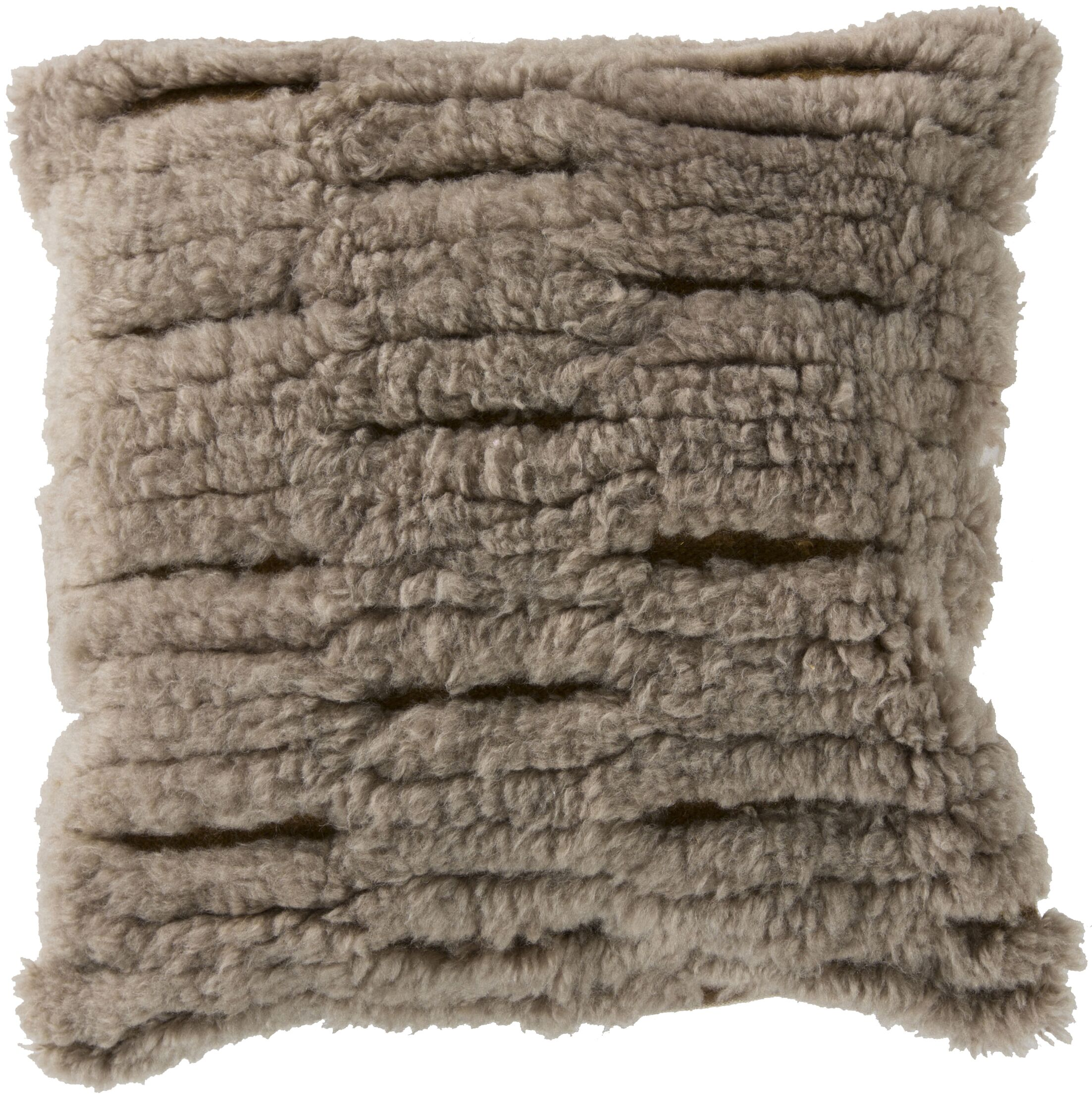 Hensley Cut Out Wool Throw Pillow Filler: Down