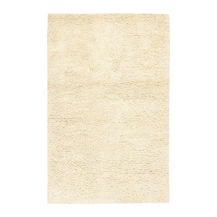 Janell Ivory Rug Rug Size: Rectangle 3'6