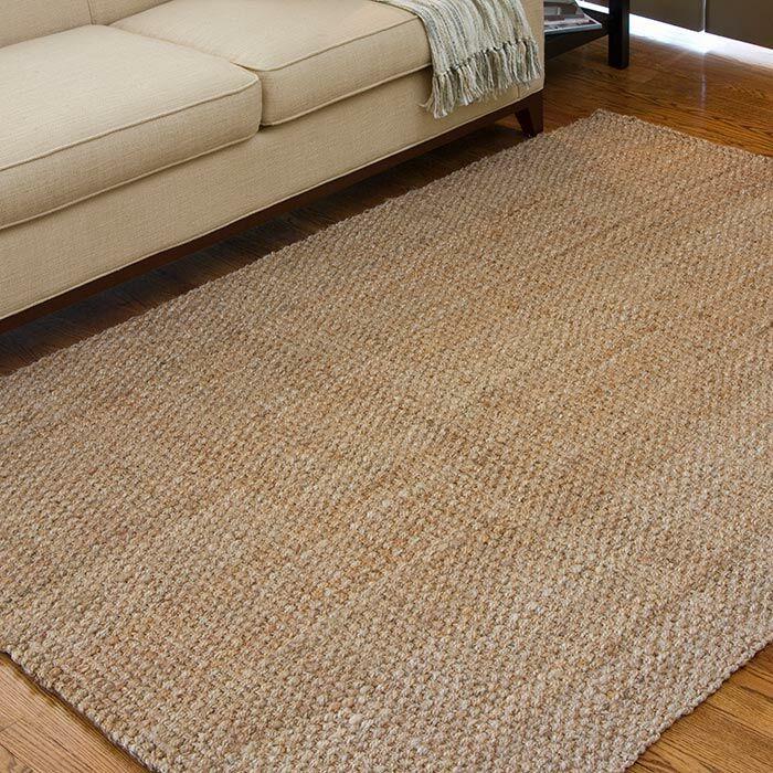 Jayleen Hand-Woven Brown Area Rug Rug Size: Rectangle 9' x 13'