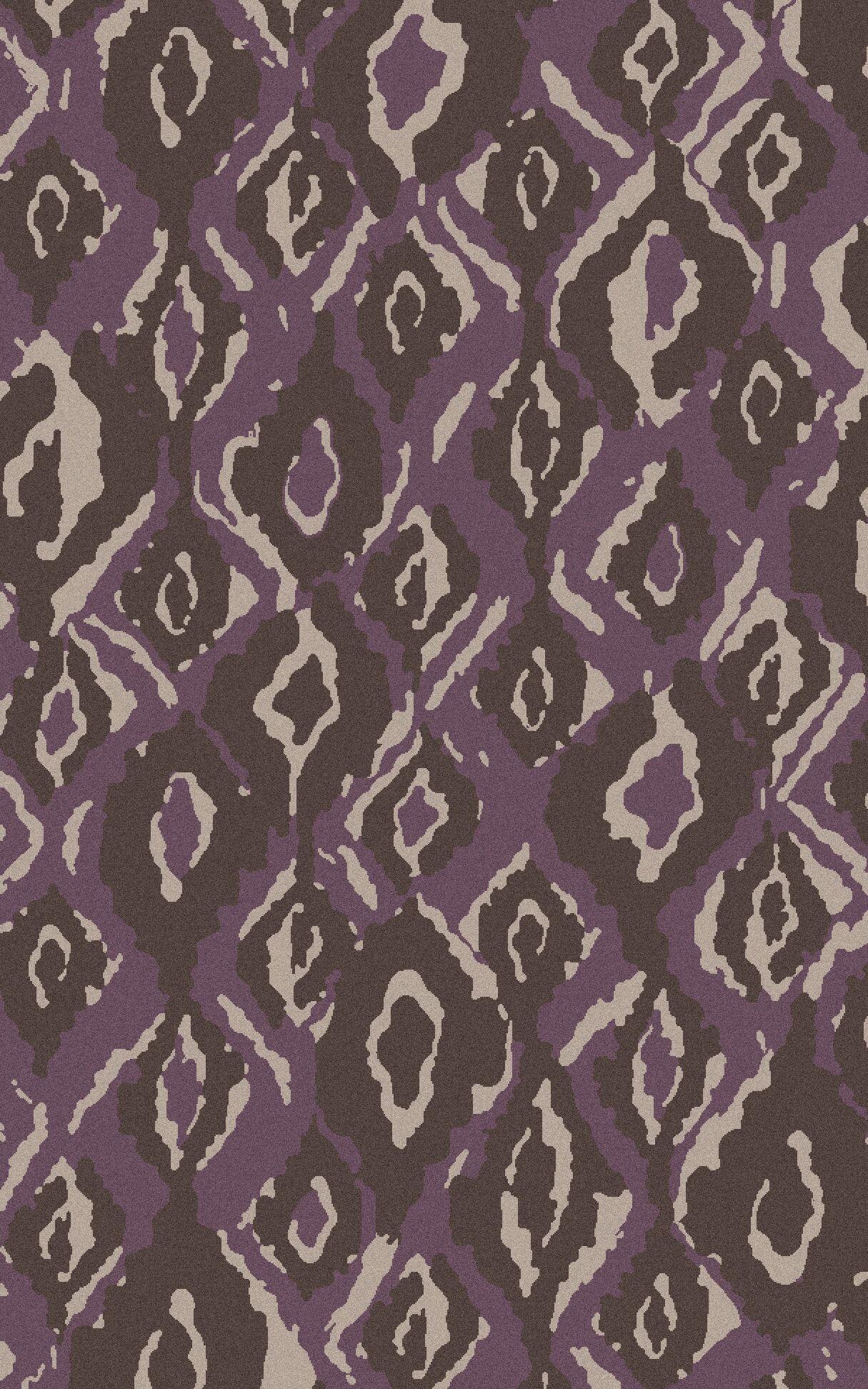 Mann Taupe Geometric Area Rug Rug Size: Rectangle 8' x 11'