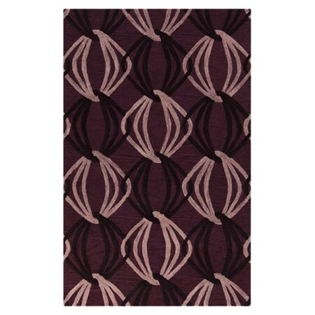 Stow Cranberry Area Rug Rug Size: Rectangle 9' x 13'