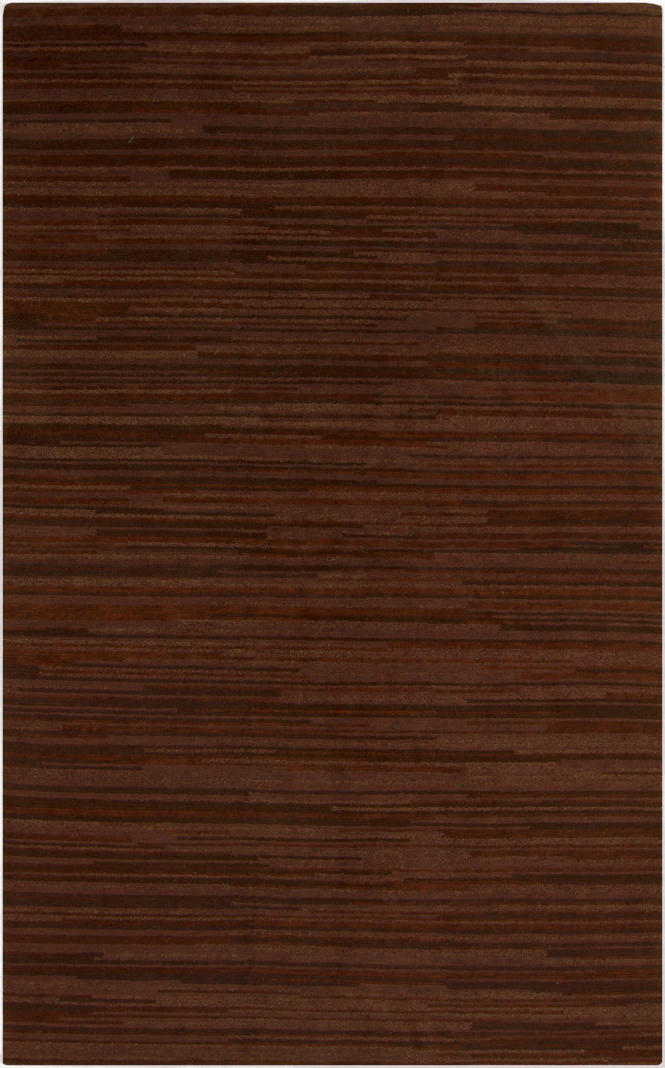 Alica Rust Area Rug Rug Size: Rectangle 8' x 11'