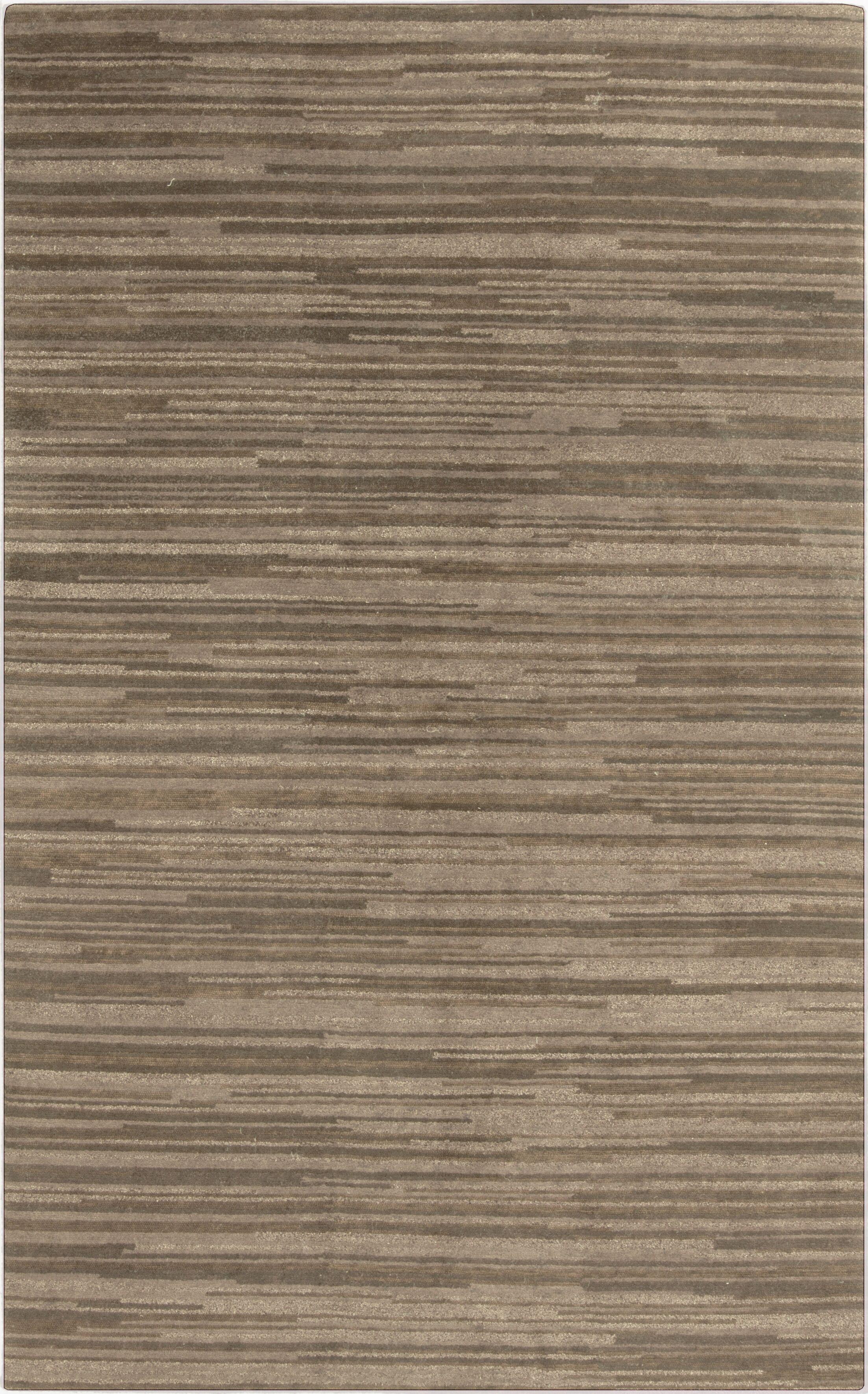 Alica Beige Stripe Area Rug Rug Size: Rectangle 5' x 8'