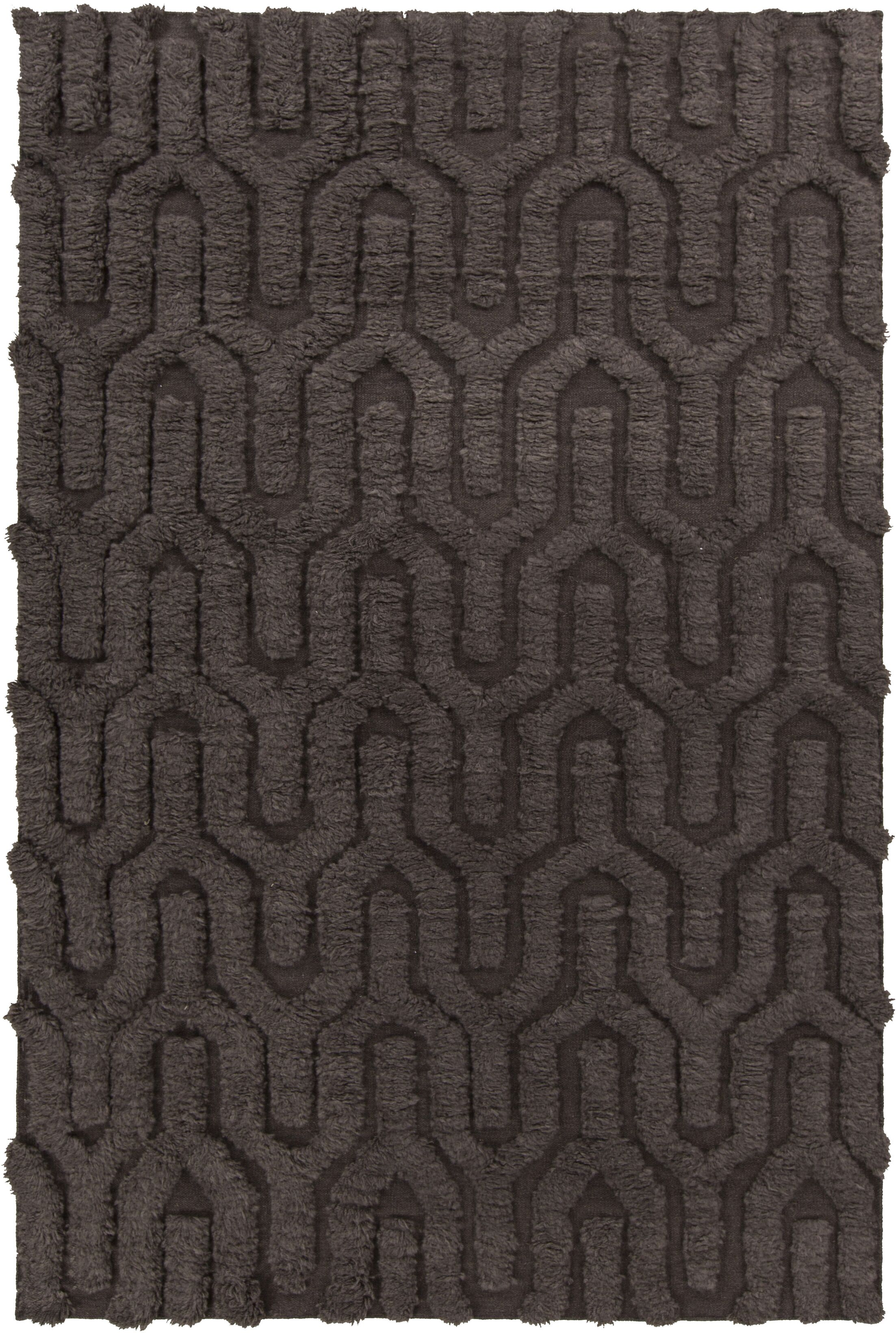 Burchfield Taupe Geometric Rug Rug Size: Rectangle 5' x 8'