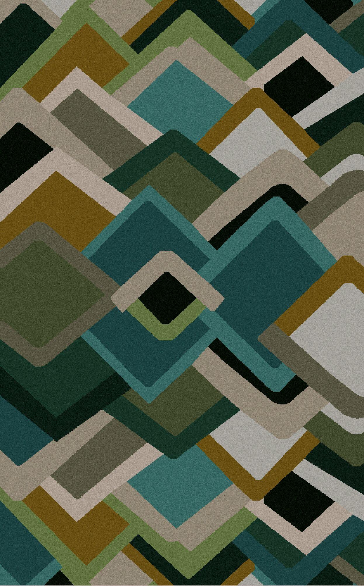 Driskill Geometric Hand-Tufted Area Rug Rug Size: Rectangle 3'3