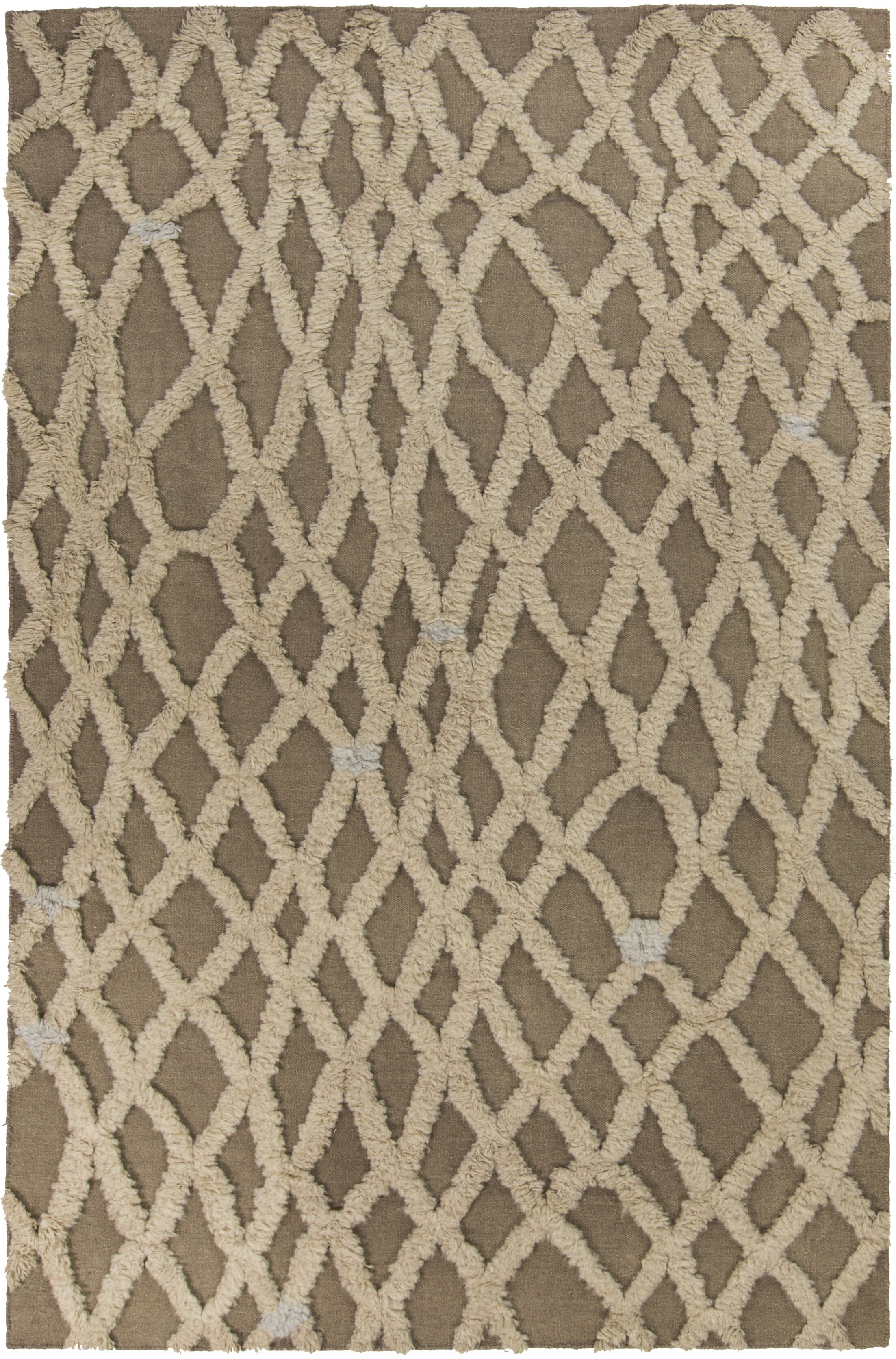 Aubriana Beige Rug Rug Size: Rectangle 5' x 8'