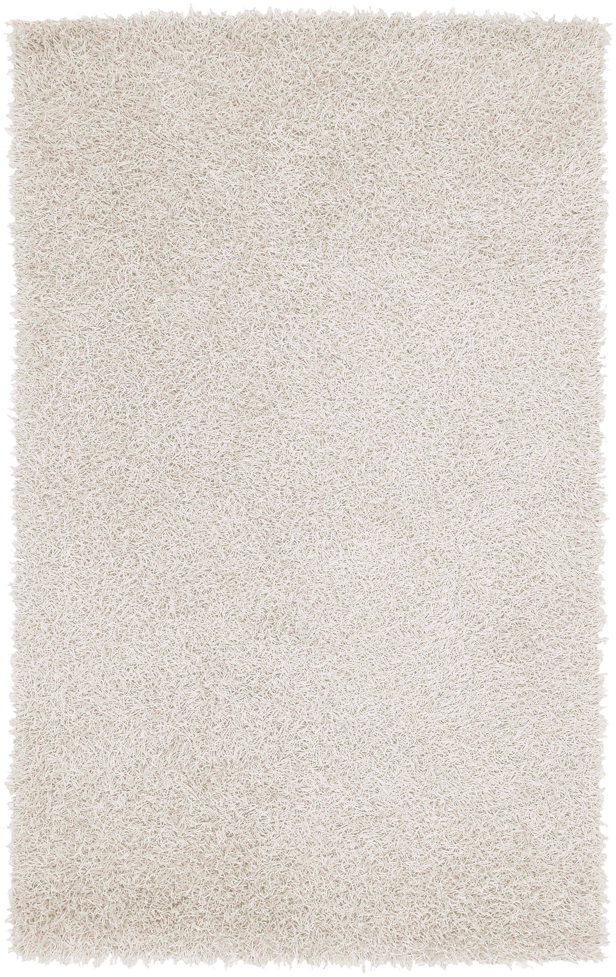 Bonomo Hand Woven Ivory Area Rug Rug Size: Rectangle 5' x 8'