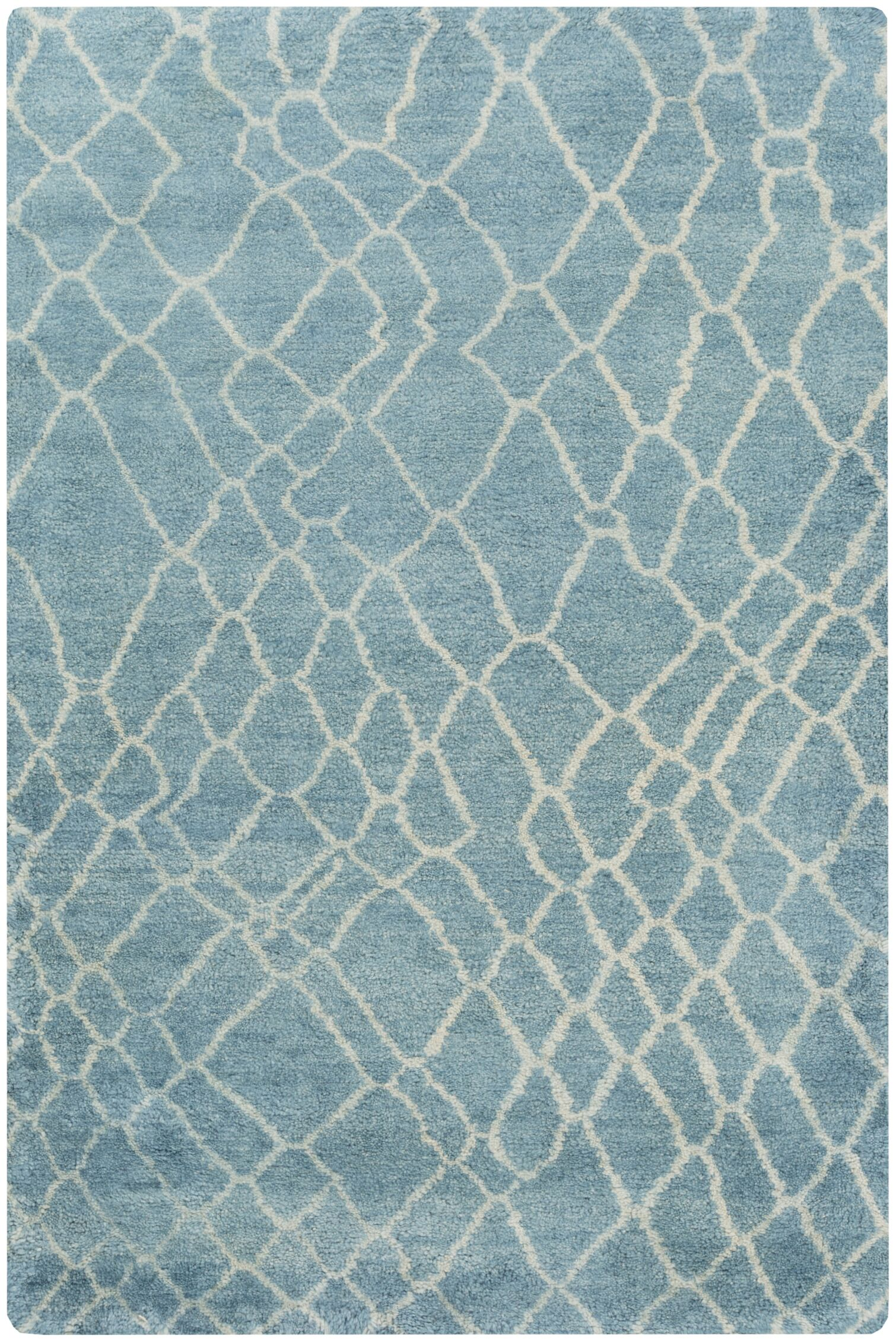 Somers Teal Area Rug Rug Size: Rectangle 2' x 3'