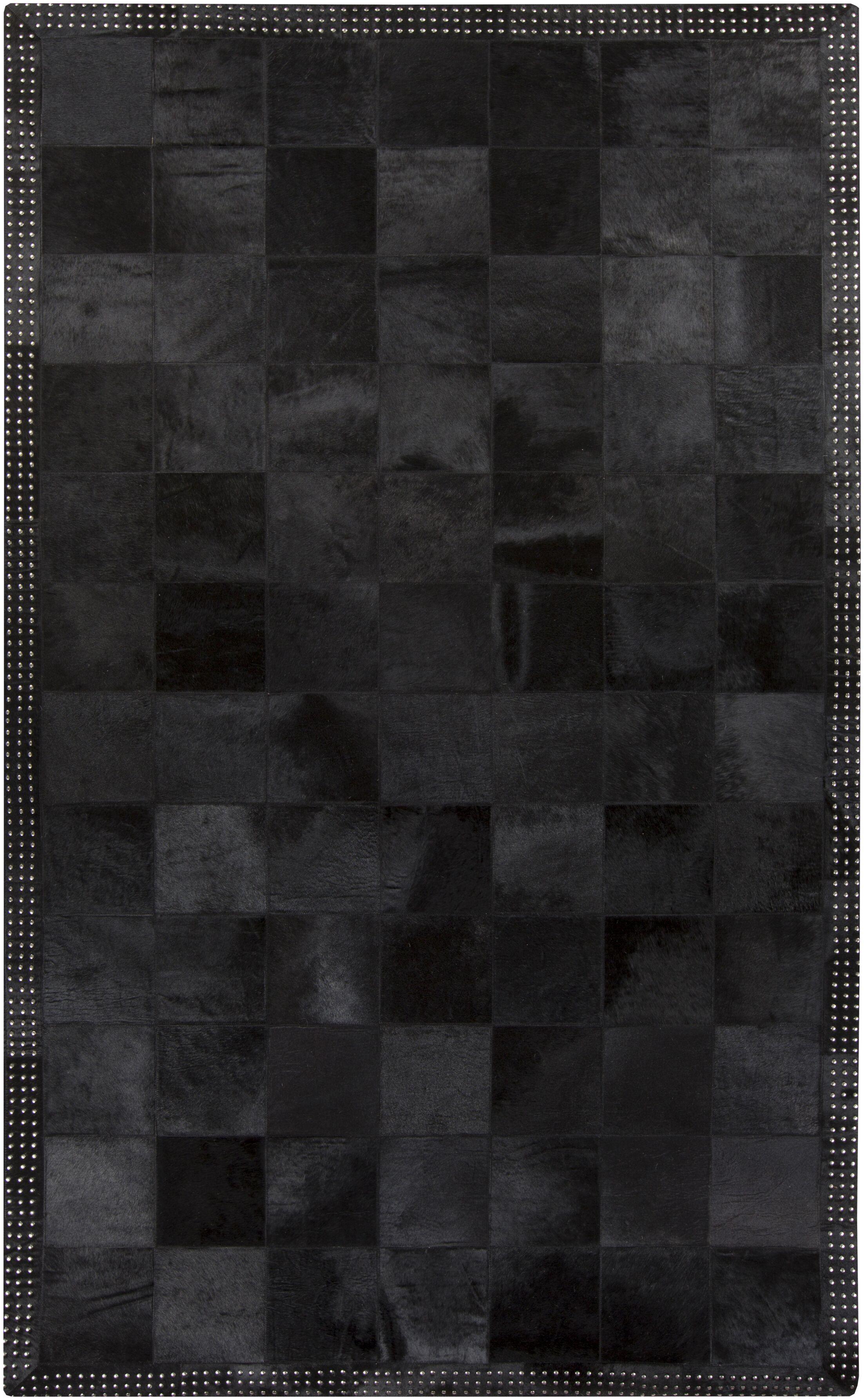 Westmoreland Black Area Rug Rug Size: Rectangle 6' x 9'