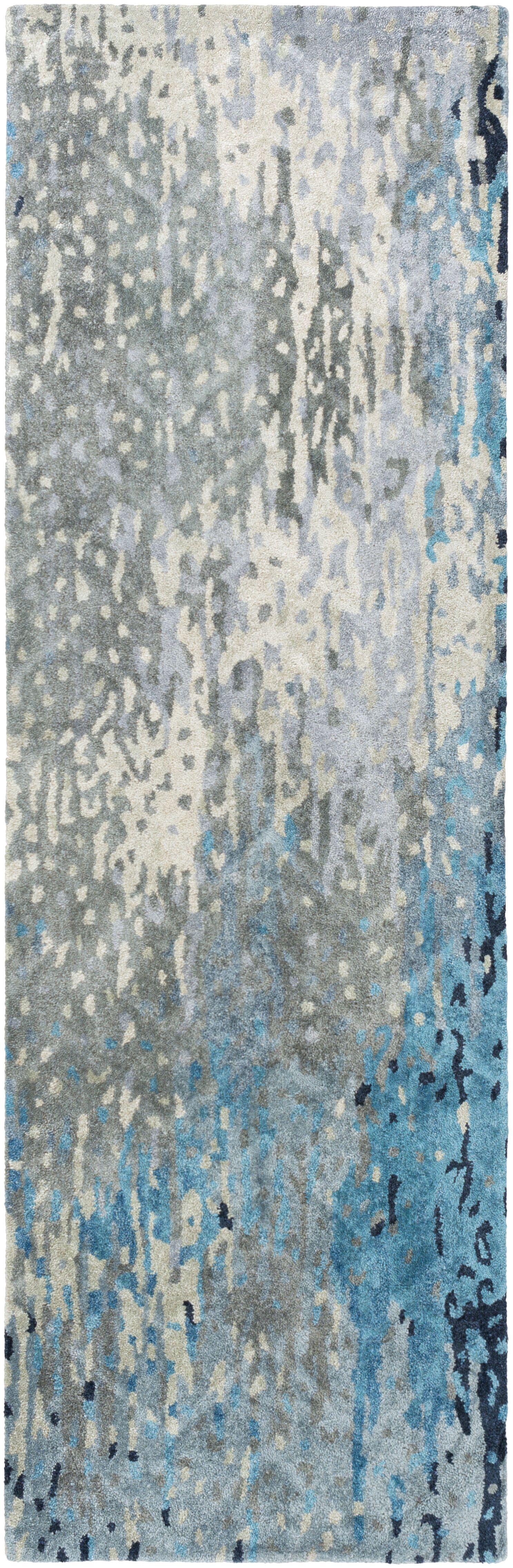 Johnna Handmade Slate Area Rug Rug Size: Rectangle 5' x 8'