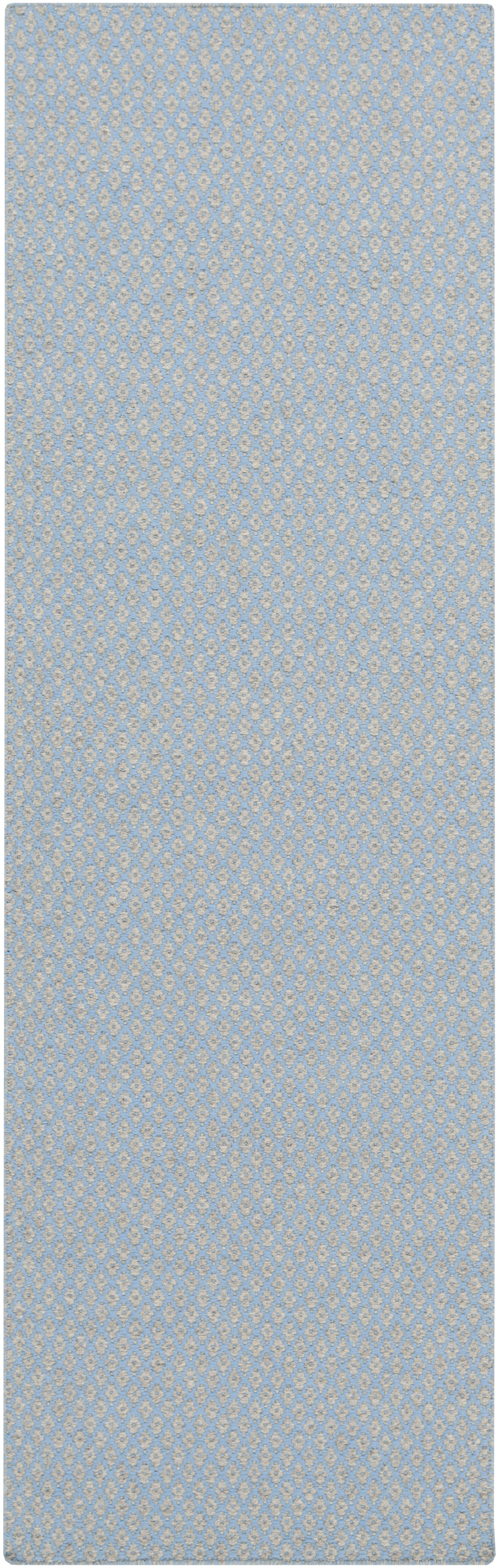 Walton Sky Blue Area Rug Rug Size: Rectangle 2' x 3'