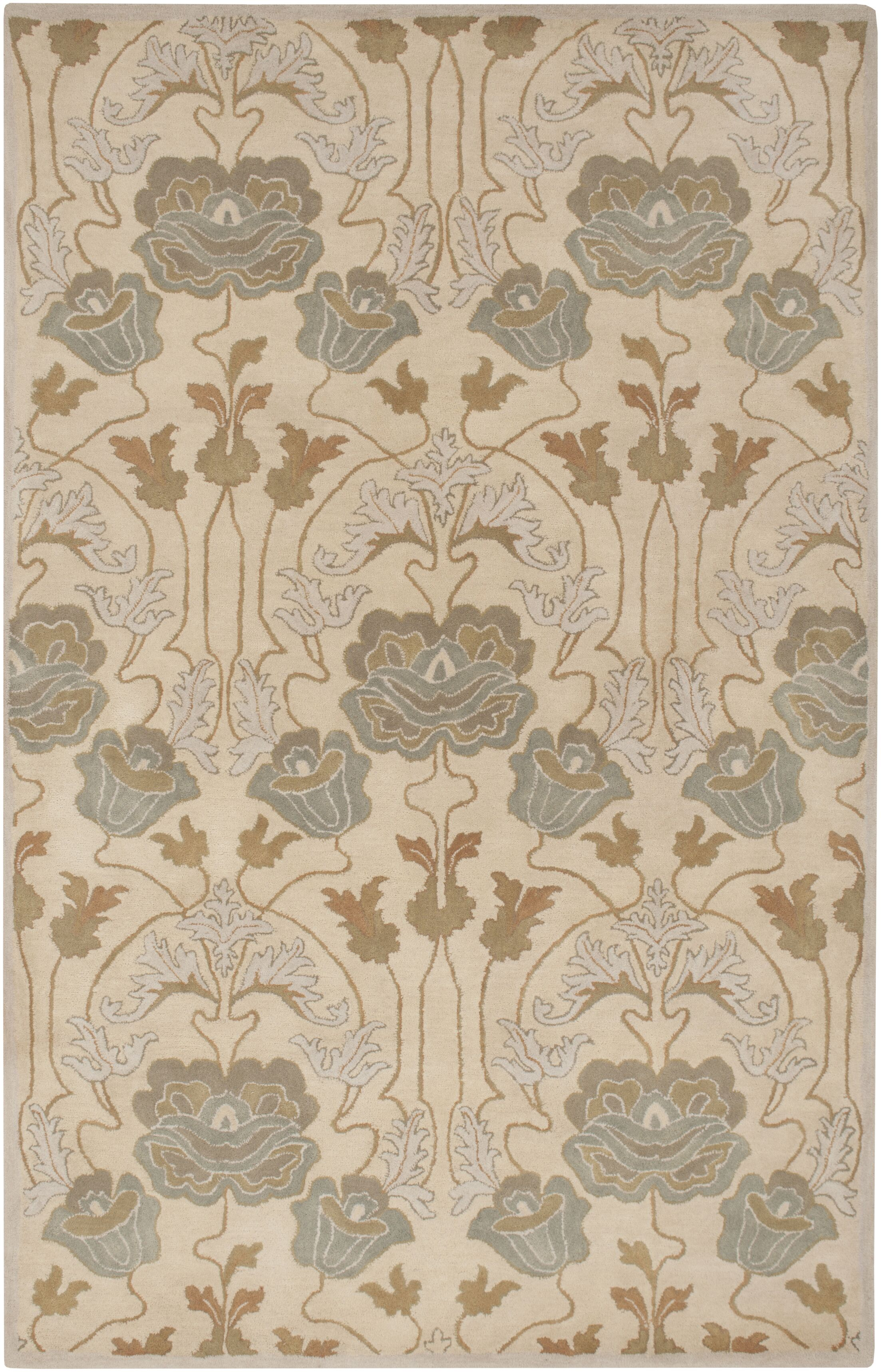 Burtt Beige/Brown Ikat Rug Rug Size: Rectangle 8' x 11'