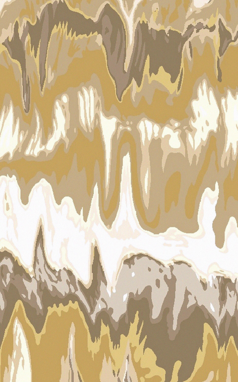 Aylesworth Ivory/Gold Area Rug Rug Size: 5' x 8'