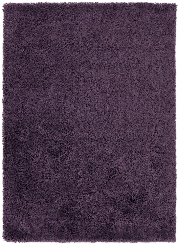 Hallum Dark Purple Taupe Rug Rug Size: Rectangle 5' x 7'