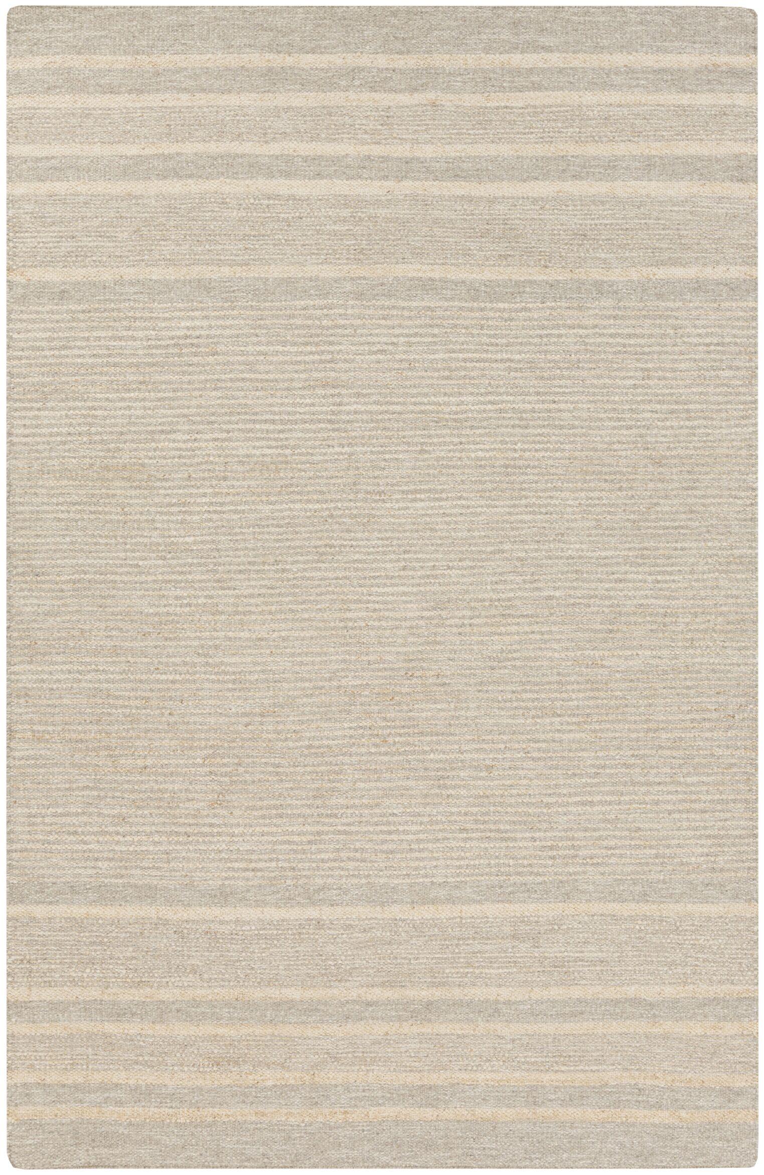 Brewington Butter/Gray Area Rug Rug Size: Rectangle 5' x 8'