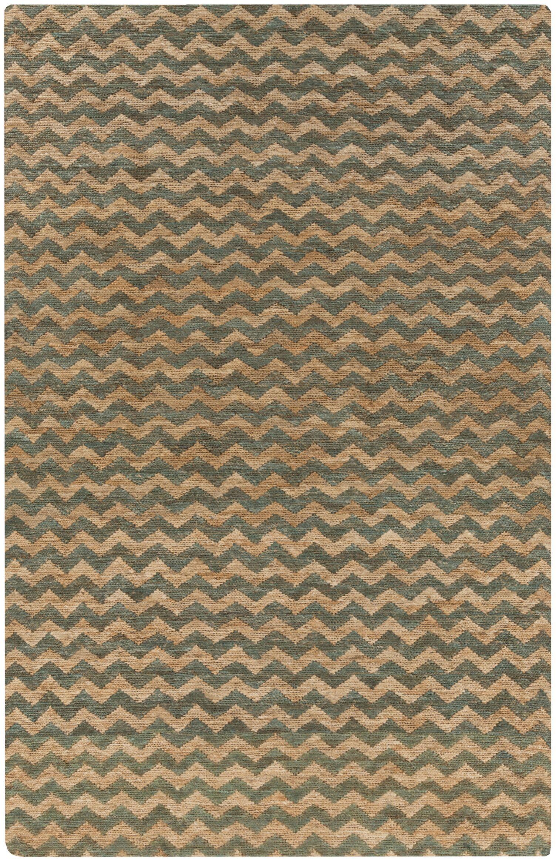 Rothenberg Mocha/Olive Area Rug Rug Size: Rectangle 8' x 11'