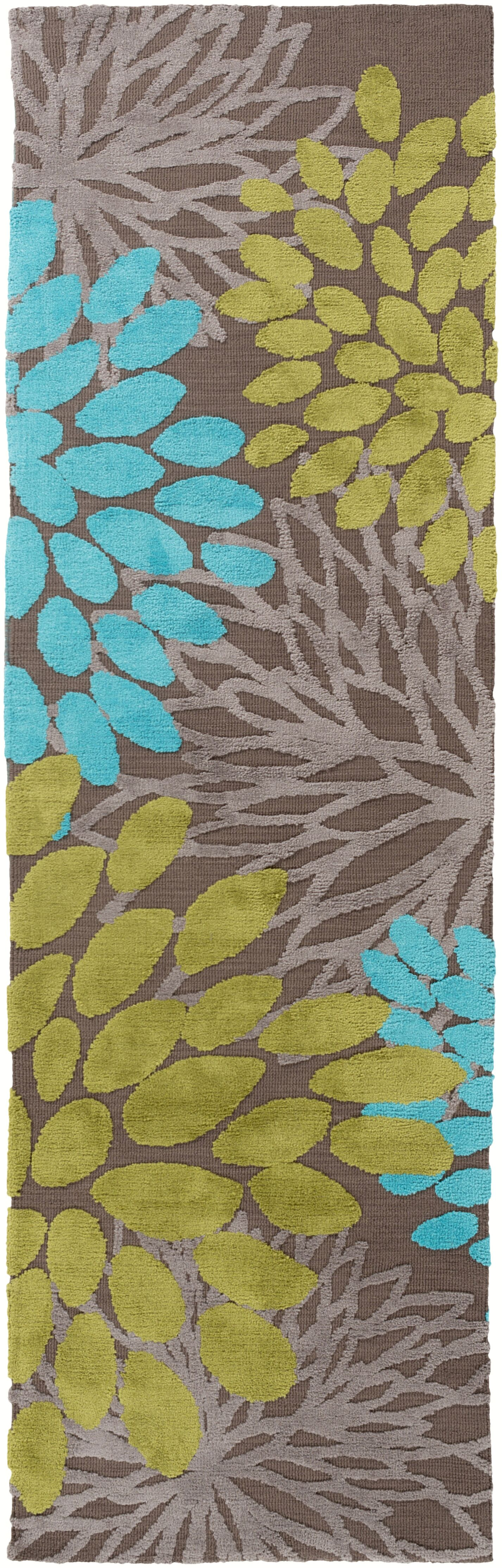 Odele Chocolate Area Rug Rug Size: Runner 2'6