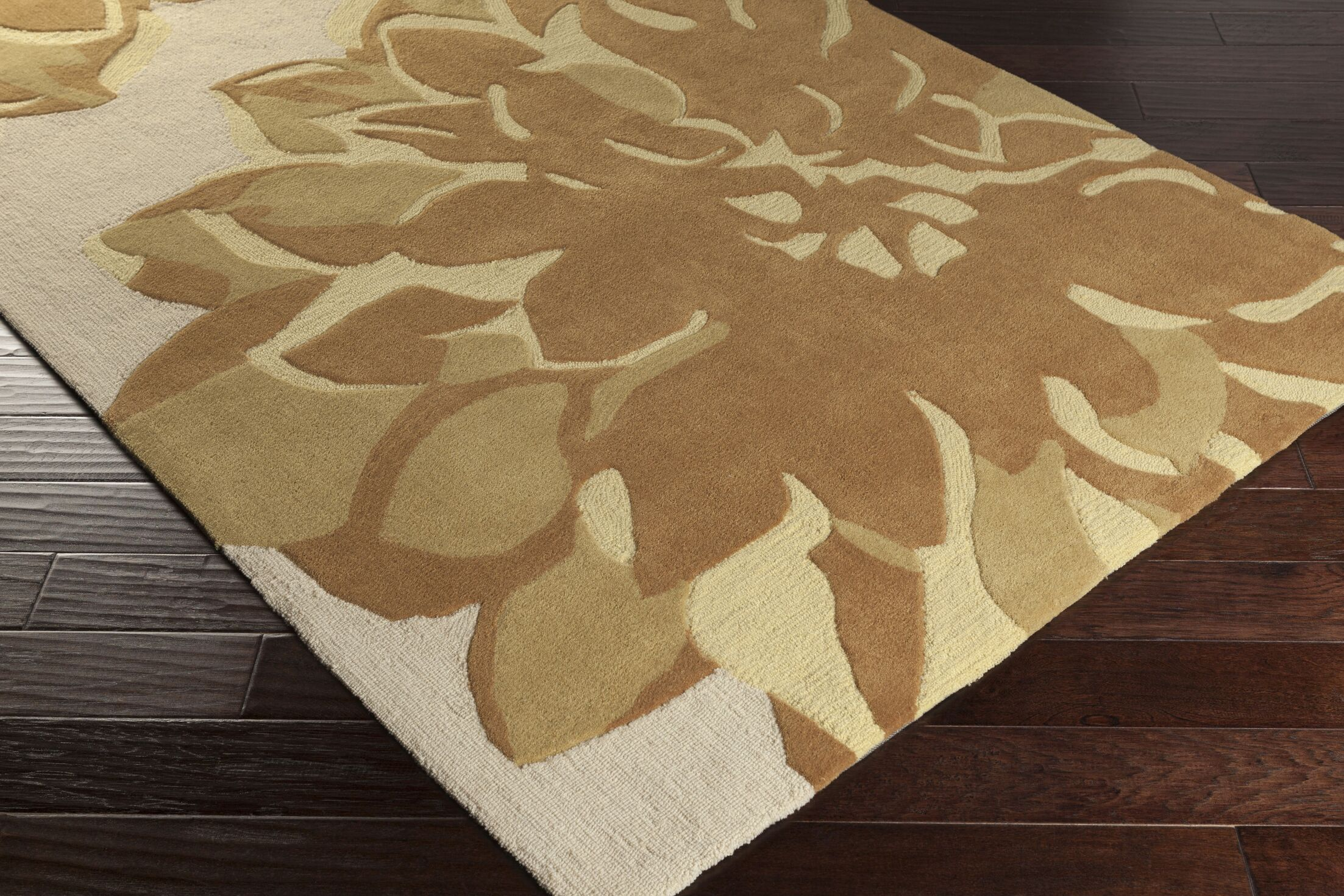 Butner Hand-Tufted Gray/Brown Area Rug Rug Size: Rectangle 8' x 11'