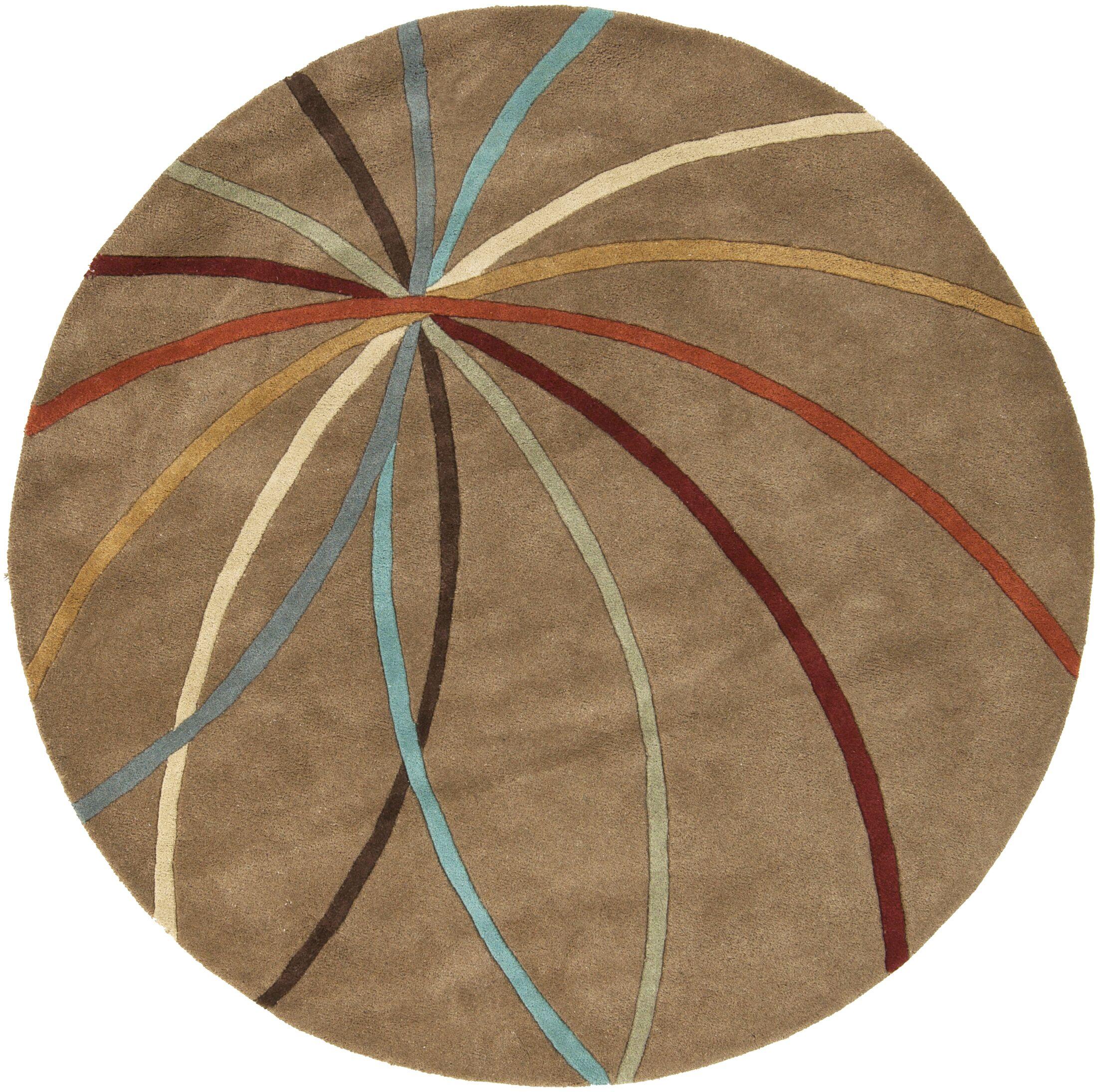Dewald Mocha Area Rug Rug Size: Rectangle 8' x 11'