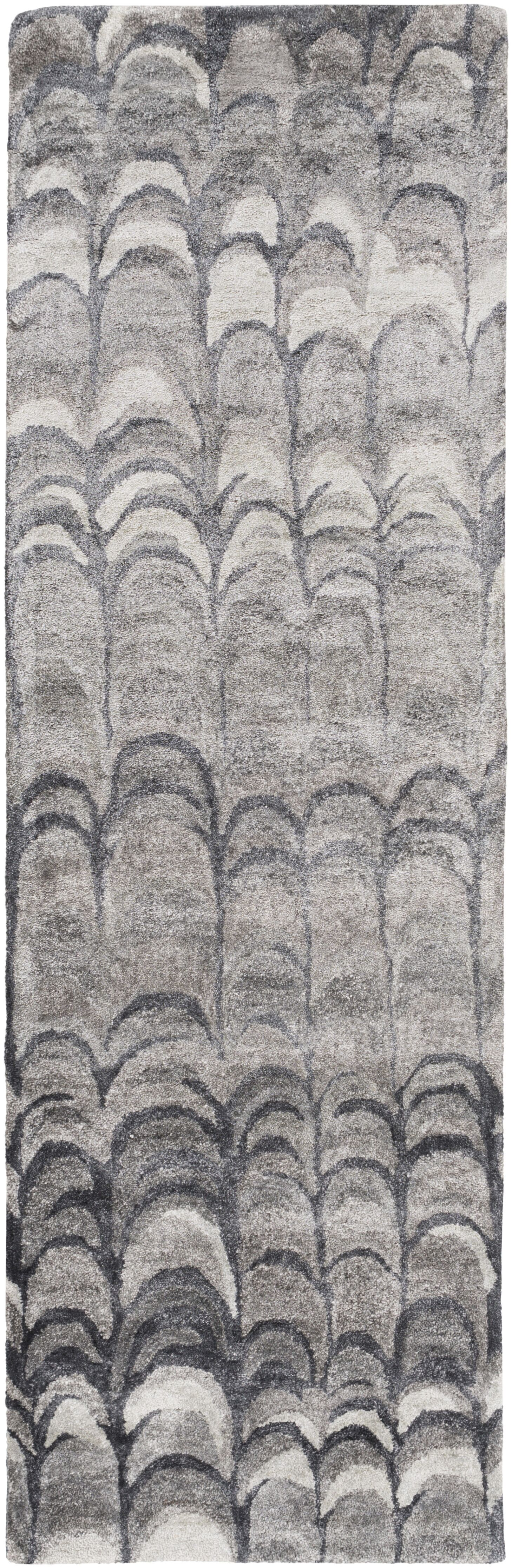 Harbor View Gray Area Rug Rug Size: Runner 2'6