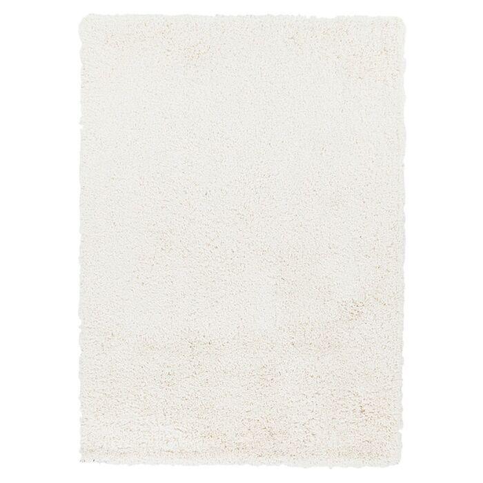 Hallum White Rug Rug Size: Rectangle 3' x 5'