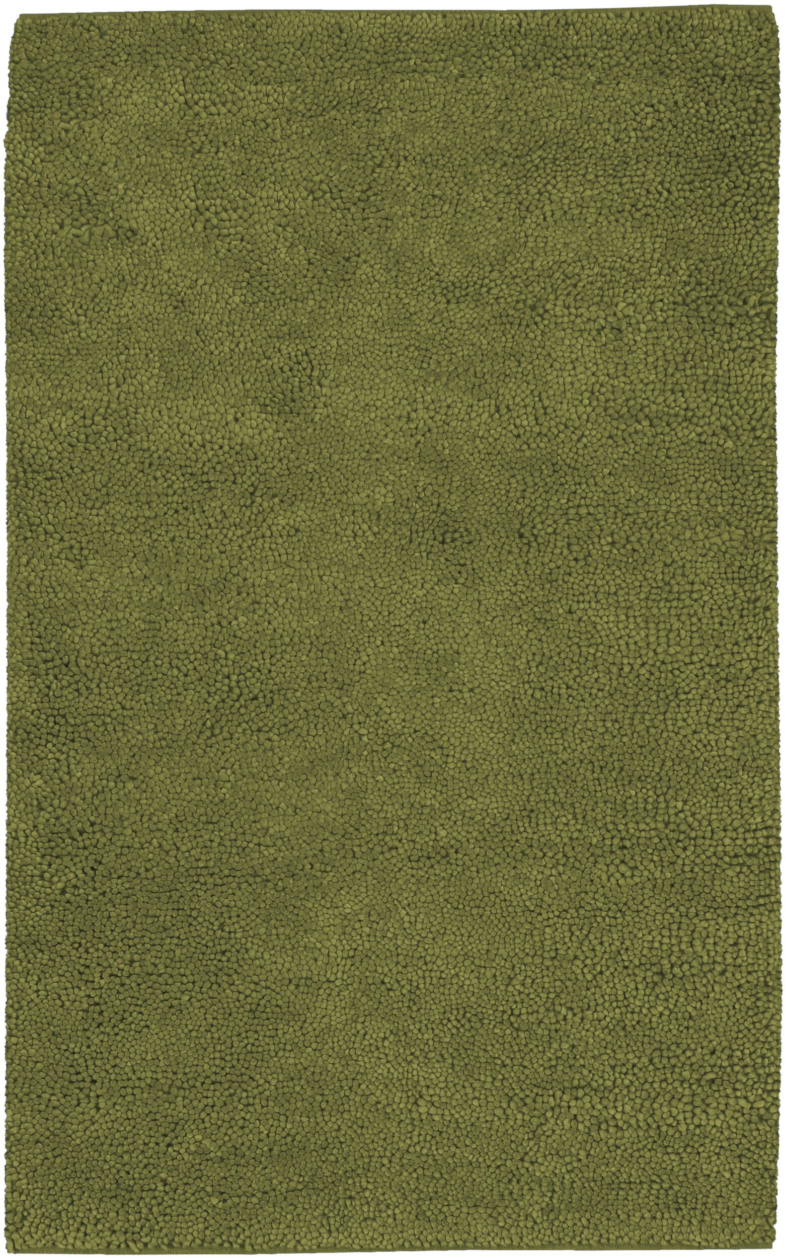 Bonney Hand Woven Wool Green Area Rug Rug Size: Rectangle 5' x 8'