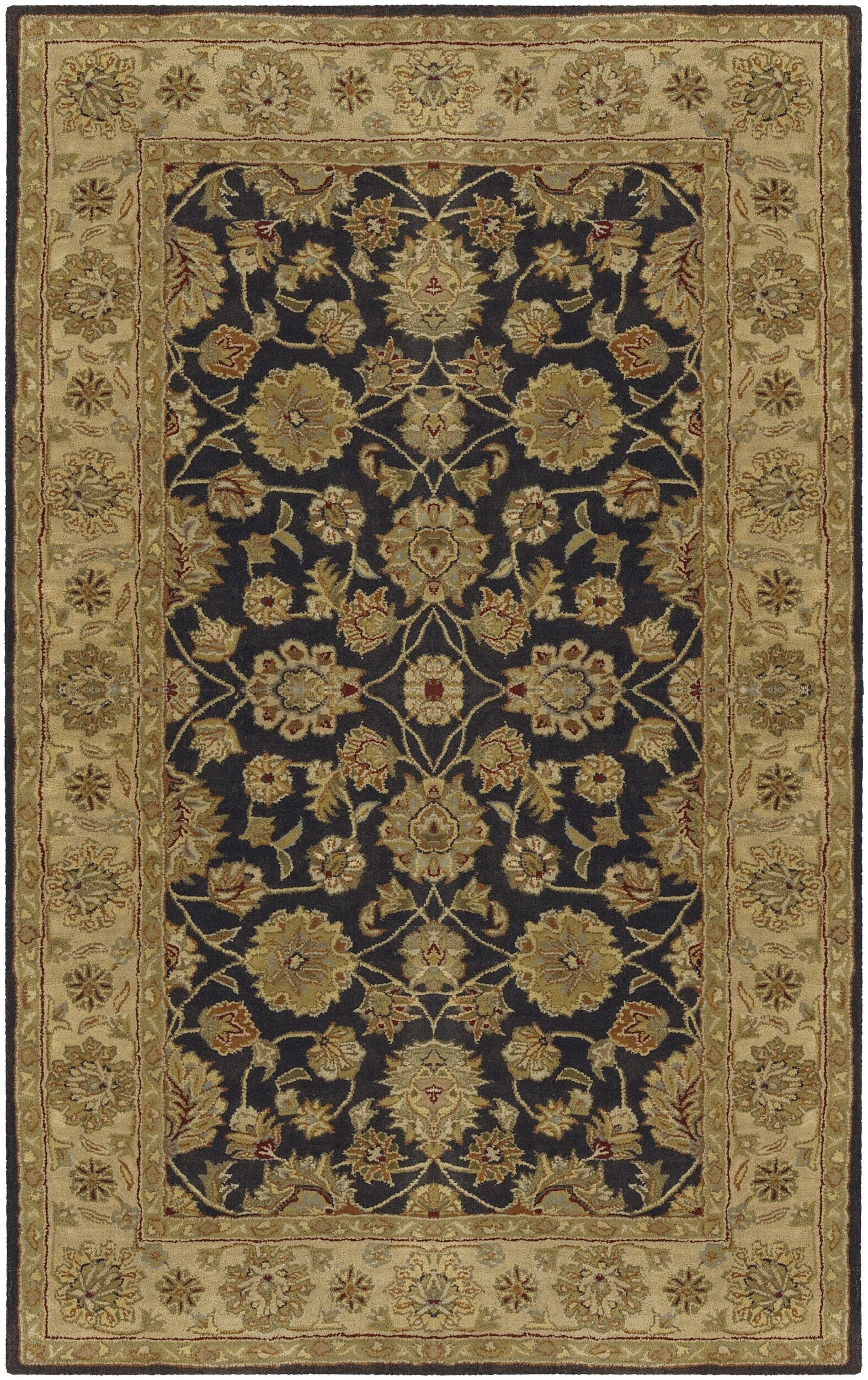 Stanford Charcoal Rug Rug Size: Rectangle 6' x 9'