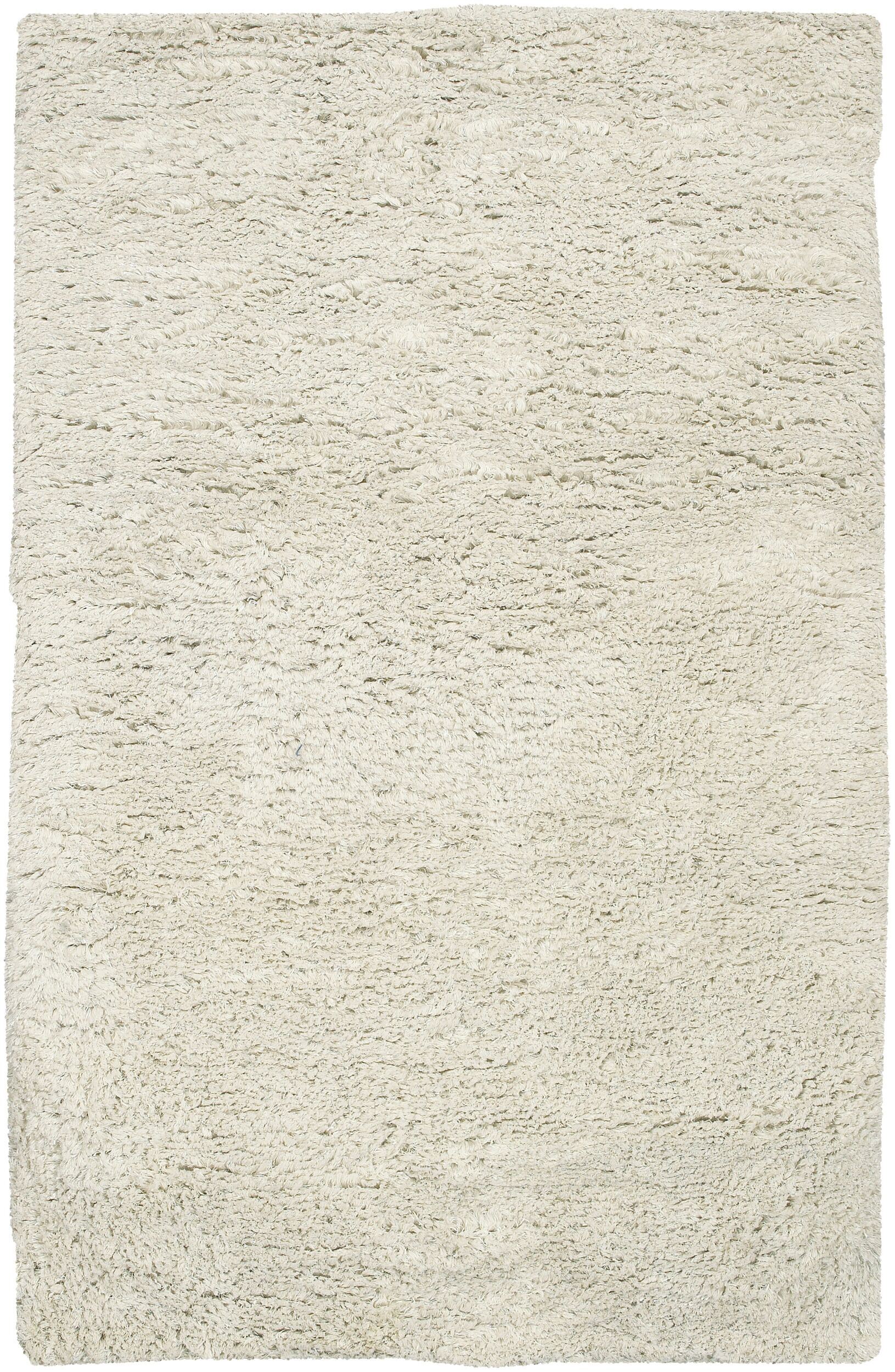 Gaston Hand Woven Wool Ivory Area Rug Rug Size: Rectangle 5' x 8'