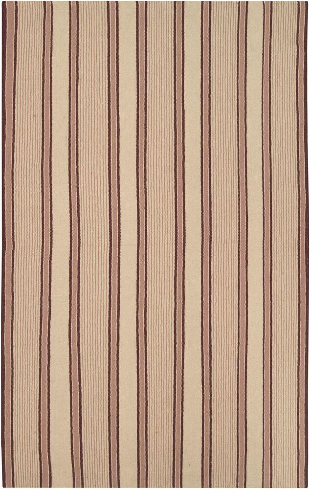 Gironde Hand-Woven Brown/Tan Area Rug Rug Size: Rectangle 5' x 8'