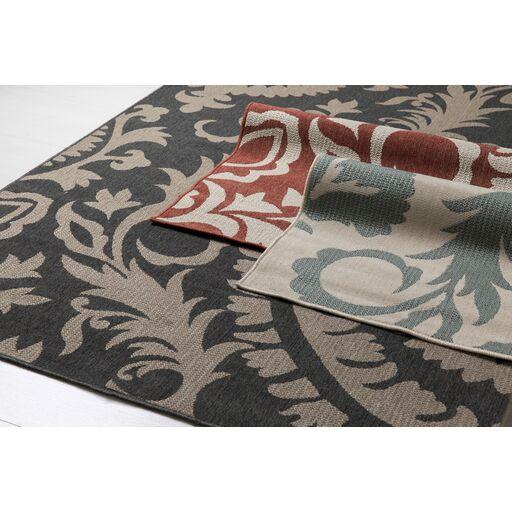 Hattie Parchment & Sage Indoor/Outdoor Rug Rug Size: Round 5'3