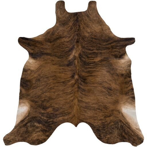 Floyd Hill Hand-Crafted Brown Area Rug