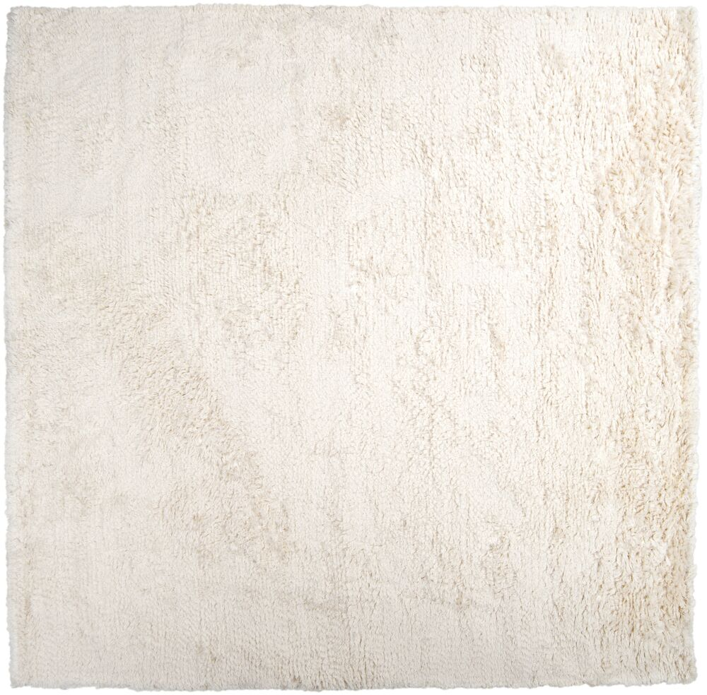 Gaston Hand Woven Wool Ivory Area Rug Rug Size: Square 8'