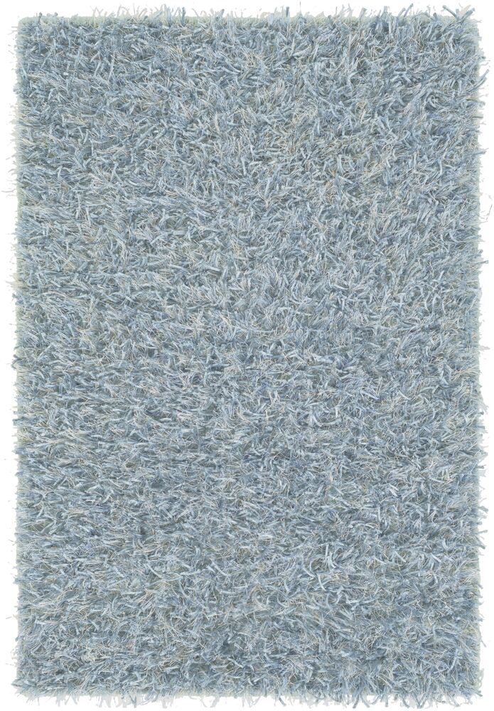 Reina Hand Woven Cloud Blue Area Rug Rug Size: Rectangle 5' x 8'