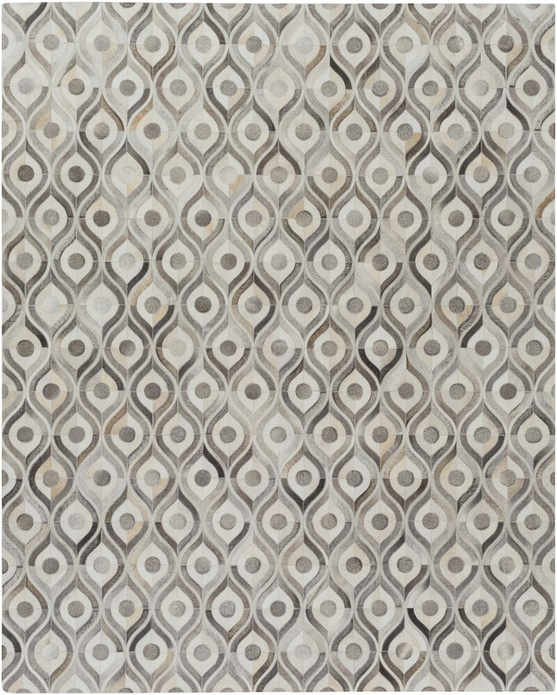 Horton Beige/Gray Area Rug Rug Size: Rectangle 5' x 8'